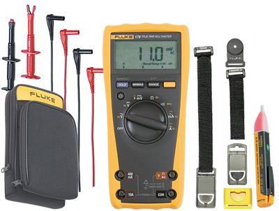 Save on the Fluke 179 Digital True-RMS Multimeter and all the key accessories you'll need with our Holiday Sale. On Now.