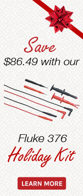 Save on the Fluke 376 and it's accessories during our Black Friday / Holiday Sale
