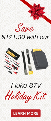 Save on the Fluke 87V and it's accessories during our Black Friday / Holiday Sale