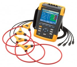 Fluke 438-II Three-Phase Power Quality and Motor Analyzer