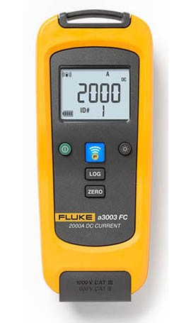 Fluke A3003 FC Wireless DC Current Clamp Meter, 2000 A
