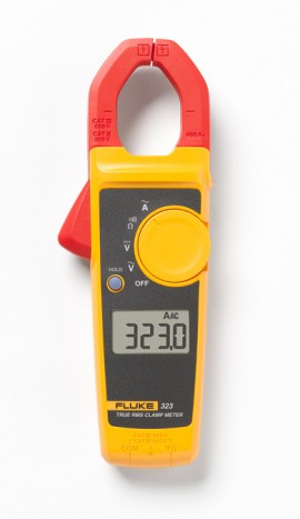 Fluke 323 True RMS Clamp Meter, 400A AC