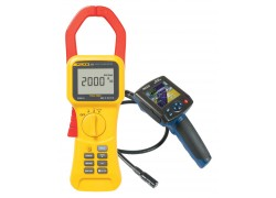 Fluke 353 True-rms 2000 A Clamp Meter Kit With R8100 Borescope