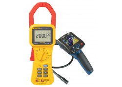 Fluke 355 True-rms 2000 A Clamp Meter Kit With R8100 Borescope