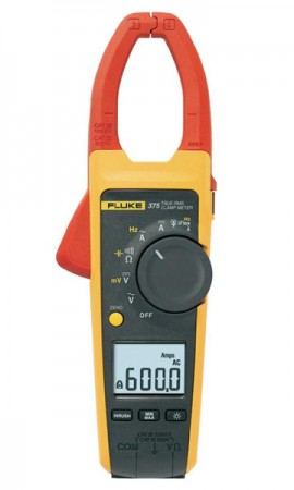 Fluke 375 True-RMS 600A AC/DC Clamp Meter