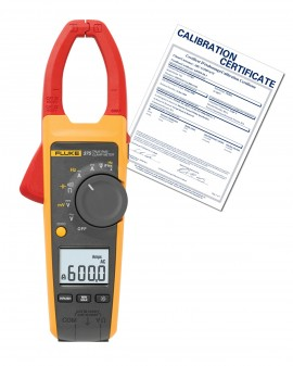 Fluke 375-NIST True RMS AC DC Clamp Meter with NIST Traceable Certificate