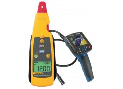 Fluke 771 Milliamp Process Clamp Meter Kit With R8100 Borescope