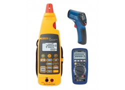 Fluke 772 Clamp Meter Kit - Includes R5010 Multimeter & R2002 IR Thermometer for FREE