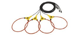 Fluke I430-FLEXI-TF-4PK Thin Flexible Current Transformers - Pack of 4