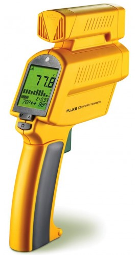 Fluke 576 Precision, Photographic Infrared Thermometer w/ Logging SW