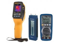 Fluke VT04 Visual IR Thermometer Kit - Includes R5008 Multimeter & R6013 Wood Moisture Detector for FREE