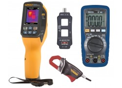 Fluke VT04 Visual IR Thermometer Kit - Includes FREE Products with Purchase