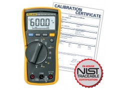 Fluke 115/EFSP-NIST TRMS Multimeter with NIST Traceable Certificate