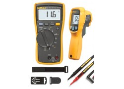 Fluke 116/62 MAX+ HVAC Multimeter and IR Thermometer Combo Kit