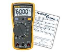 Fluke 117/EFSP-NIST TRMS Multimeter with VoltAlert with NIST Traceable Certificate