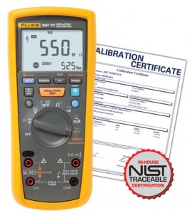 Fluke 1587 FC Insulation Multimeter with Calibration Certificate