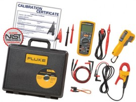 Fluke 1587KIT/62MAX+ FC Electrical Troubleshooting Kit with Calibration Certificates