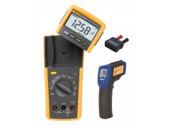 Fluke 233 Multimeter Kit - Includes R2001 IR Thermometer & AD-1 Thermocouple Adapter for FREE
