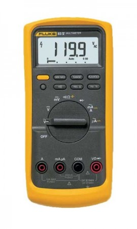 Fluke 83-5 Digital Multimeter, 1000V AC/DC