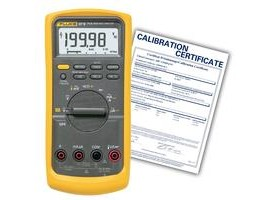 Fluke 87-5-NIST True RMS Digital Multimeter with NIST Traceable Certificate
