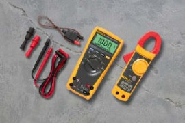 Fluke 179/IMSK Digital Multimeter with Fluke 322 Current Clamp Combo Kit