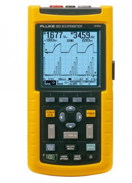 Fluke 123S Industrial ScopeMeter with Software
