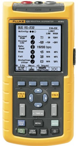 Fluke 125S Industrial ScopeMeter with Software