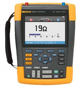 Fluke 190-202/AM/S ScopeMeter Series II with Case & Software