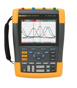 Fluke 190-204 ScopeMeter Series II 4-Channel 200MHz Oscilloscope