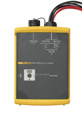 Fluke 1743 Three Phase Power Quality Logger Memobox