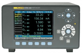Fluke N4K 3PP50 Norma 4000 3-Phase Power Analyzer with 3 x PP50 Power Phase Input Modules