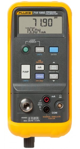 Fluke 719-30G Electric Pressure Calibrator