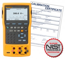 Fluke 754-NIST Process Calibrator with HART Communications with NIST Traceable Certificate