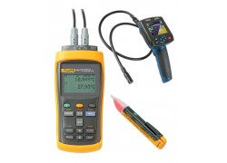 Fluke 1524-156 Reference Thermometer Kit - Includes BS-150 Borescope & 1AC-A1-II Voltage Detector for FREE