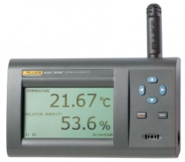 Fluke 1622A-H-156 Temp./Humidity Data Logger USB Wireless Kit