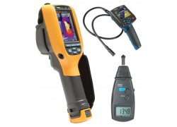 Fluke Ti110 Thermal Imager Kit - Includes BS-150 Borescope & R7100 Tachometer for FREE