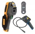 Fluke TI95-9HZ Thermal Imager Kit - Includes BS-150 Borescope & LM-8000 Environmental Meter for FREE