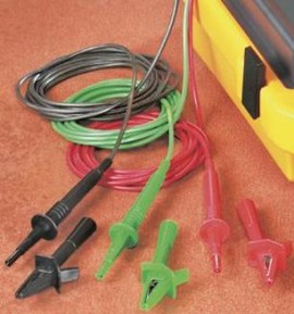 Fluke  TL1550EXT Extended Test Lead Set - 25 foot