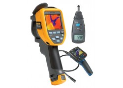 Fluke TIS40-9HZ Thermal Imager Kit - Includes BS-150 Borescope & R7100 Tachometer for FREE