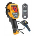 Fluke TIS50-9HZ Thermal Imager Kit - Includes BS-150 Borescope & LM-8000 Environmental Meter for FREE