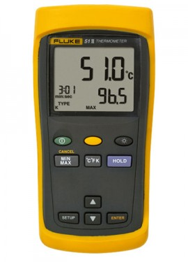 Fluke 51 II Single Input Digital Thermometer