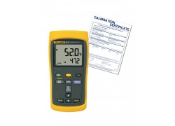 Fluke 52-2-NIST Dual Input Thermometer with NIST Traceable Certificate