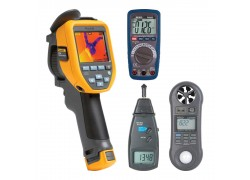 Fluke TIS45-KIT2 Fluke Thermal Imager Kit - Includes the R5008 Digital Multimeter, R7100 Replacement Adapter & the LM-8000 Environmental Meter FREE-