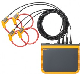 "Fluke 1746/30/EUS Three-Phase Power Quality Loggers with with 24"" (60 cm) 3000 A iFlex current probes, EU/US version-"