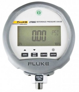 Fluke 2700G-BG200K/C Reference Pressure Gauge with Accreditation, -15 to 30 PSI-
