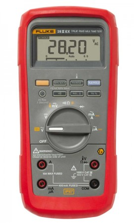 Fluke 28IIEX/ETL Intrinsically Safe True RMS Digital Multimeter-