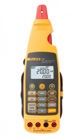 Fluke 773 Milliamp Process Clamp Meter, 4 to 20 mA-