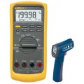 Fluke 87V True RMS Industrial Multimeter Kit - Includes the R2300 Infrared Thermometer for FREE-