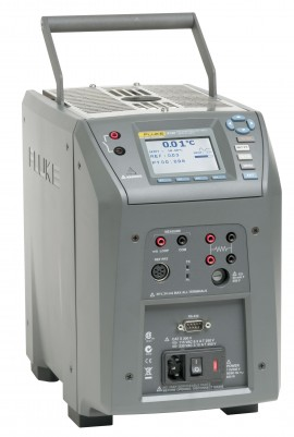 Fluke 9143-D-156 Field Metrology Well with D Insert (Model 9143-INSD), 33 to 350°C-