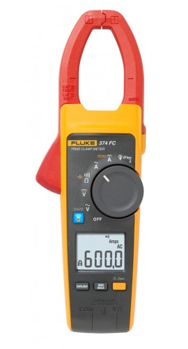 Clamp Meter Accessories : Fluke fc trms ac dc clamp meter a v